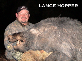 JAGER PRO Wild Boar Hunting Task Force Lance Hopper With Wild Boar Capture