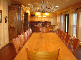 Piney Creek Dining Area