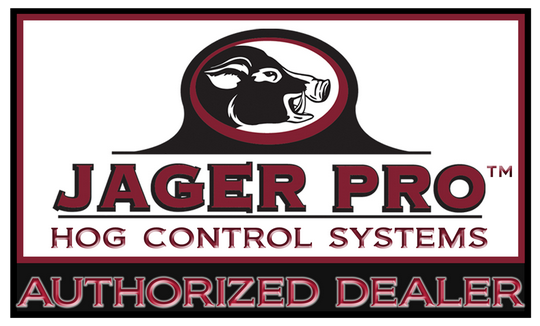 Jager Pro Official Authorized Dealer Badge