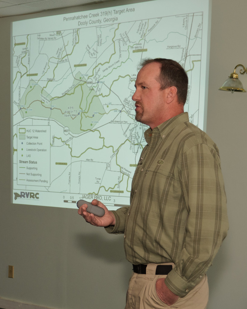 Jager Pro Demonstration Speaker and Founder Rod Pinkston - UGA extension