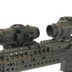 M300W AR15 flipped away Aimpoint