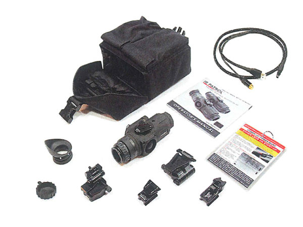 ir patrol m300w weapon mounted thermal monocular tactical kit