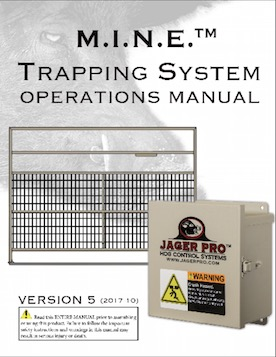 M.I.N.E.™ Trapping System Operations Manual