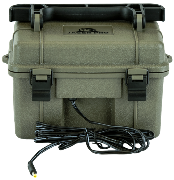 Front view of the Jager Pro battery box