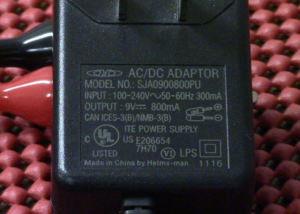 9-Volt Battery Charger