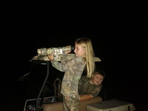 hog hunting with kids